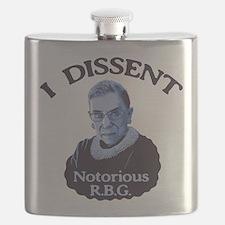 Notorious RBG Flask