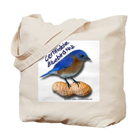 The New Bluebird Nut Tote Bag