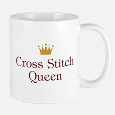 Cross Stitch Queen Mugs