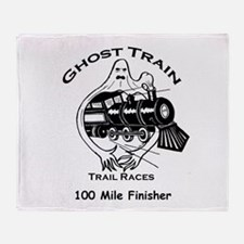 GTRTR 100 Mile Finisher Throw Blanket