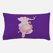 Elephantina Ballerina Pillow Case