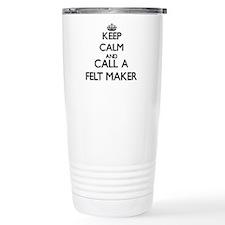 Keep calm and call a Fe Travel Mug