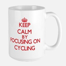 Keep Calm by focusing on Cycling Mugs