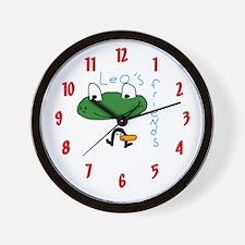 Neecho and Kreibo Wall Clock