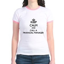 Keep calm and call a Financial Manager T-Shirt