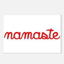 Namaste Script Postcards (Package of 8)