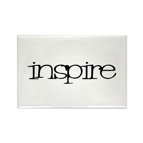 inspire Rectangle Magnet