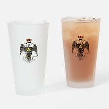 33rd degree Scottish Rite Drinking Glass