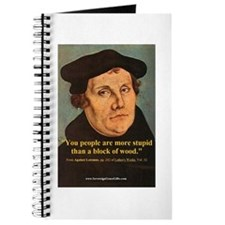 Funny Martin luther Journal