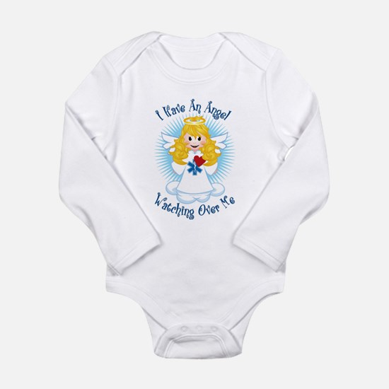 Angel Watching Me EMT Infant Bodysuit Body Suit