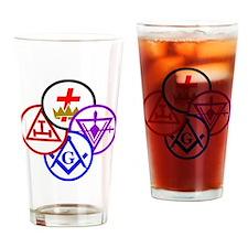 Cool York rite Drinking Glass