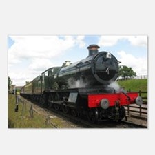Vintage steam engine by T Postcards (Package of 8)