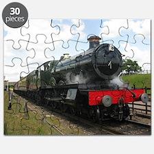 Vintage steam engine by Tom Conway Art. Rai Puzzle