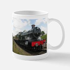 Vintage steam engine by Tom Conway Art. Railw Mugs