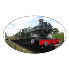 Vintage steam engine by Tom Conway Art. Ra Decal
