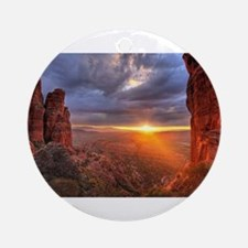 Grand Canyon Sunset Ornament (Round)