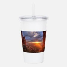 Grand Canyon Sunset Acrylic Double-wall Tumbler