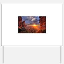 Grand Canyon Sunset Yard Sign