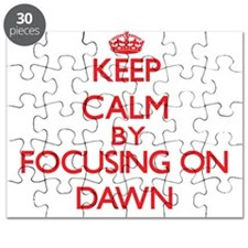 Keep Calm by focusing on Dawn Puzzle