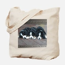 Cute Bernese puppy Tote Bag