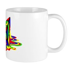 Pyraminx cude painting01B Mug