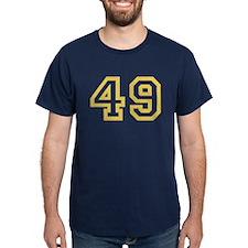 GOLD #49 T-Shirt