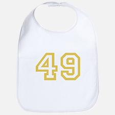 GOLD #49 Bib