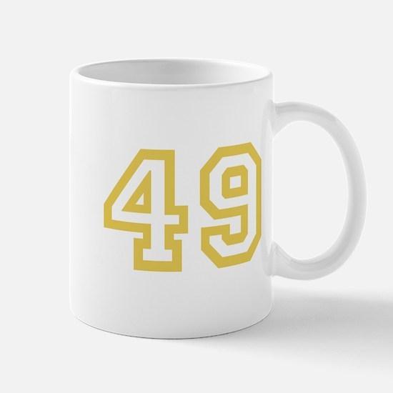 GOLD #49 Mug