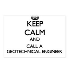 Keep calm and call a Geot Postcards (Package of 8)