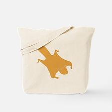Brown Flying Squirrel Tote Bag
