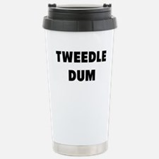 tweedle dum Travel Mug