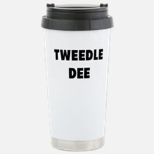 tweedle dee Travel Mug