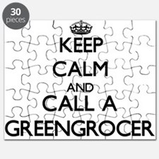 Keep calm and call a Greengrocer Puzzle
