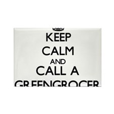 Keep calm and call a Greengrocer Magnets