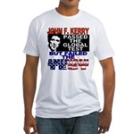 American Test Anti John Kerry Fitted T-Shirt
