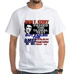 American Test Anti John Kerry White T-Shirt