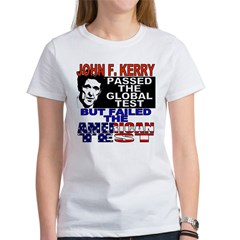 American Test Anti John Kerry Women's T-Shirt
