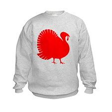 Red Turkey Sweatshirt