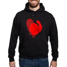 Red Turkey Hoodie