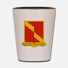 27 Field Artillery Regiment.png Shot Glass