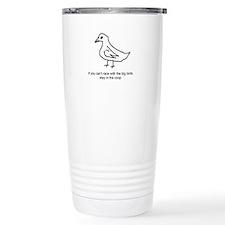 Funny Pigeons Travel Mug