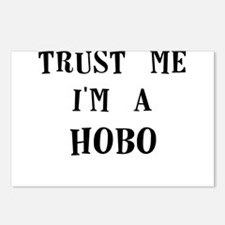trust me im a hobo Postcards (Package of 8)