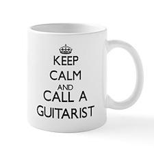 Keep calm and call a Guitarist Mugs