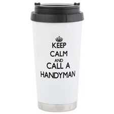 Keep calm and call a Ha Travel Mug