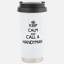 Keep calm and call a Ha Travel Mug