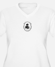 John Calvin Profile Plus Size T-Shirt
