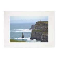Cliffs of Moher 2 5'x7'Area Rug