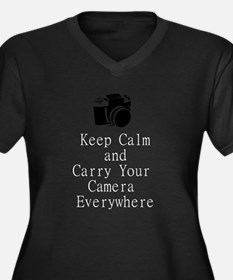 Carry a Camera Plus Size T-Shirt