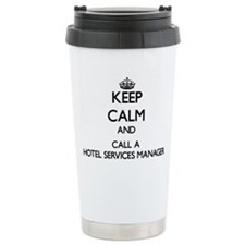 Keep calm and call a Ho Travel Coffee Mug