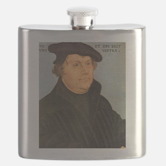 Martin Luther Poster Flask
